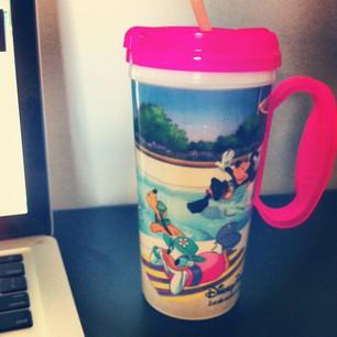 Disney World Ice Coffee