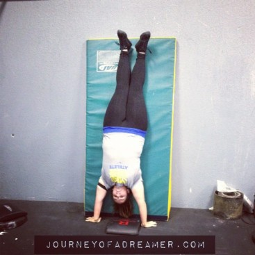 CrossFit Handstand Push-Up